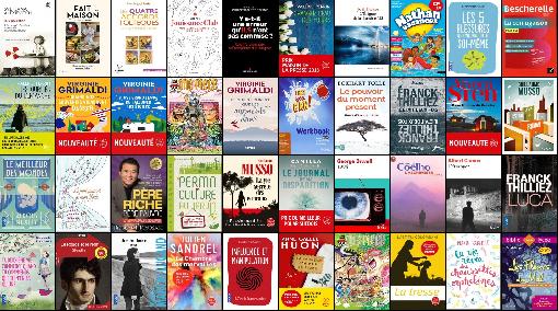 Les meilleures ventes de livres Classement du 11 Septembre