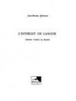 L'interdit de langue: Solitudes d'André Du Bouchet