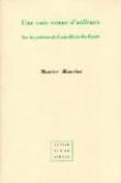 Une voix venue d'ailleurs: Sur les poèmes de Louis-René des Forêts