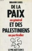 De la paix en general et des palestiniens en particulier