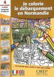 4 cartes postales à colorier : je colorie le Débarquement en Normandie