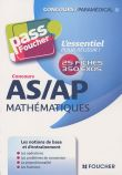 Concours AS/AP Mathématiques
