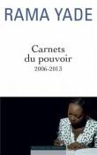 Carnets du pouvoir (2006-2013)